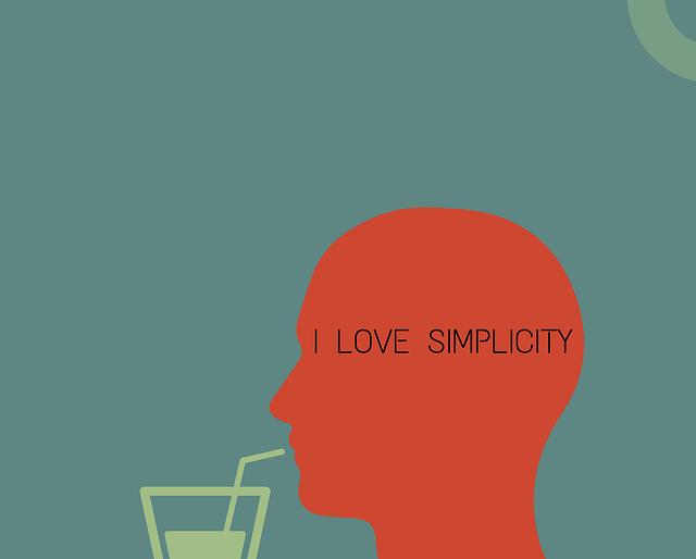 Mental Health is Simplicity